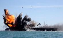 Iran\'s Revolutionary Guard attacks mock US aircraft carrier in naval drills