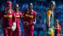 West Indies lose 9 wickets