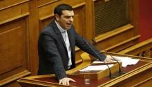 Greek PM Alexis Tsipras announces first \'humanitarian\' legislation