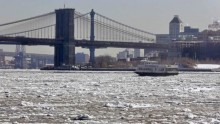 Woman dies after falling into frigid New York City\'s East River