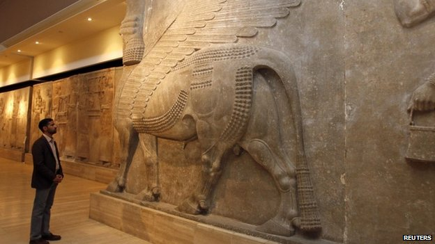 Looted Iraqi Museum in Baghdad reopens 12 years on