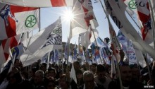 Italy anti-immigration rally draws thousands in Rome
