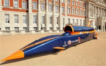 Meet the world\'s first 1,000 mph car, faster than a speeding bullet