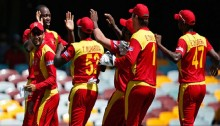 Zimbabwe need to score 236 runs to win