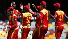 Zimbabwe lose 8 wickets
