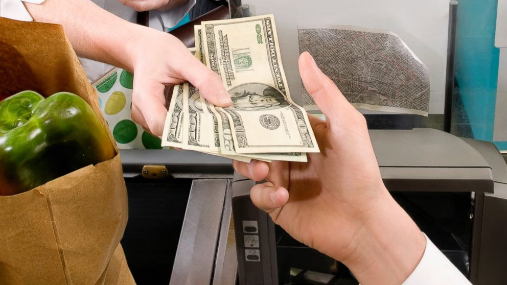 Germs come free with money