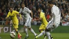 Real Madrid held at home by Villarreal