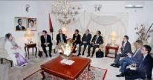 Foreign diplomats meet Khaleda at Gulshan office