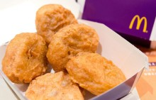 McDonald's will stop serving chicken treated with antibiotics