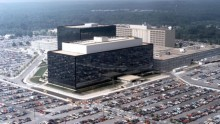 Report of shots fired near NSA headquarters, building damaged
