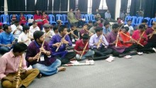 Songskrity Mancha holds day long workshop on flute playing