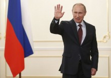 Putin takes a pay cut, as does most of the Kremlin