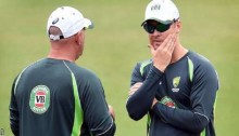 Australia bat on dry pitch, bring Doherty in