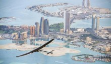 Round-the-world solar flight begins