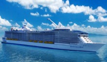 World\'s \'smartest cruise ship\' with robot waiters and skydiving