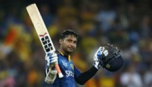 Sangakkara hits record fourth successive ODI ton