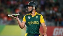 AB De Villiers scores 99 as South Africa set UAE 342 to win