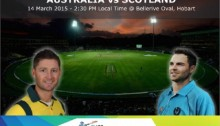 Australia win toss, send Scotland in to bat in World Cup