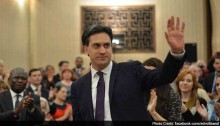 UK opposition leader Ed Miliband sets out key election pledges