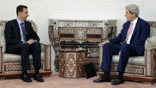 Syria conflict: We have to talk to Assad, admits Kerry