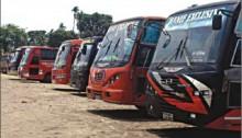 Indefinite transport strike in Kurigram