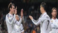Bale scores twice in Real Madrid victory
