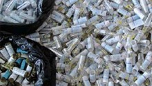 1,590 ampoules of pethidine seized in Rajshahi, 2 held