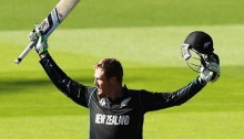 Martin Guptill's double century:  2nd in world cup history