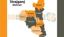 Land office torched in Sirajganj
