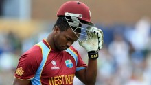 West Indies lose early wickets