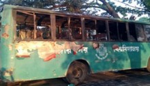 JU bus torched on campus