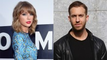 Taylor Swift and DJ Calvin Harris spotted together