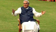 Atal Bihari Vajpayee to be conferred Bharat Ratna today