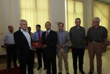 NDC delegates visit EWMGL media outlets