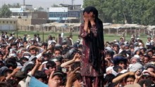 Suicide bomber hits group of protesters in Afghanistan, killing 17