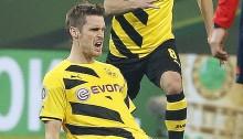 Sebastian Kehl puts Dortmund into German Cup semis