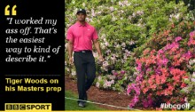 Masters 2015: Tiger Woods worked from \'sun up to sun down\'