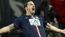 Ibrahimovic hat-trick helps PSG boost quadruple dream