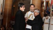 Amitabh Bachchan: Honoured and humbled to receive Padma Vibhushan