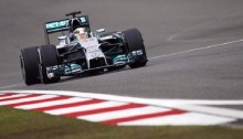 Lewis Hamilton fastest in Chinese GP practice
