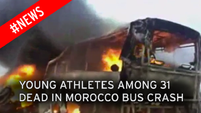 Young athletes among 31 dead in Morocco road collision