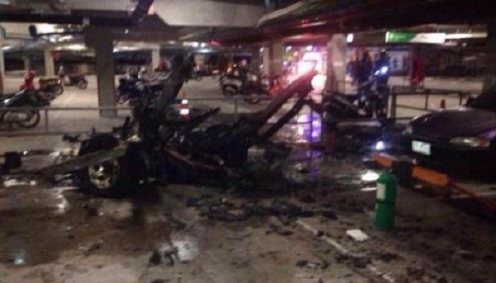 Seven injured in explosion in Thailand