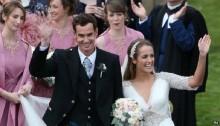 Andy Murray marries girlfriend Kim Sears in Dunblane