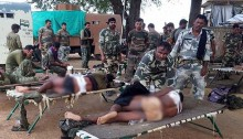 7 policemen killed, 12 injured in Naxal encounter in India\'s Chhattisgarh