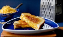 The trick to great grilled cheese sandwich