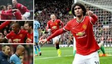 Man Utd put four past rivals City