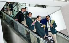 Pakistan team arrives in Dhaka