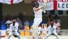 West Indies v England: Ian Bell hits century as tourists dominate