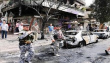 Car bombs kill at least 11 civilians in and around Baghdad