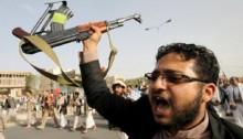 Yemen conflict: Houthi rebels condemn UN arms embargo